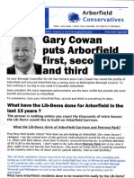 Gary Cowan puts Arborfield First, Second and Third