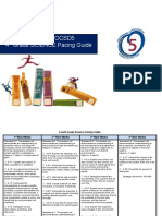 science fourth grade pacing guide 2015 - 2016