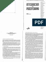 1. Fuerzas de Cambio en Psicoterapia (Integracion en Psicoterapia, Cap. 36)