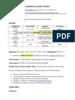 Nareddula Rajeev Reddy Resume