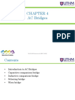 - Chapter 4 - Ac Bridges