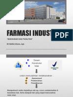 Farmasi Industri Bangunan Dan Fasilitas