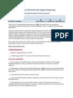Internship Participant Student Agreement