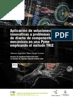 Trabajo Aplicación del método TRIZ a soluciones innovativas en problemas de diseño de componentes mecánicos en una Pyme