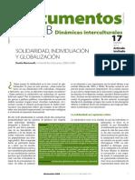 MARTUCCELLI - Solidaridad, Individuación y Globalización