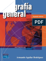 Geografía General, 2da Edición - Armando Aguilar Rodríguez