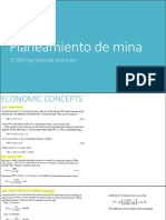 Planeamiento de Mina 2