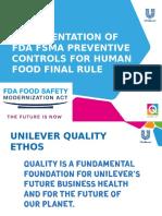 Preventive Controls Reg Com Meeting