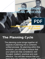 Report in Planning