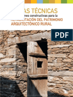 Rehabilitación Patrimonio Arq Rural - Piedra