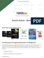 Svetlin Nakov – Books _ Svetlin Nakov's Blog