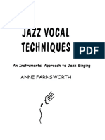 Jazz Vocal Techniques