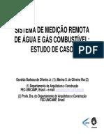 Sistema de medição remota de água e gás combustível - Estudo de caso