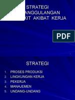 5. Strategi Penanggulangan Penyakit Akibat Kerja
