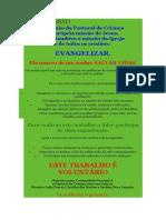 NOSSA MISSÃO pastoral da criança.docx