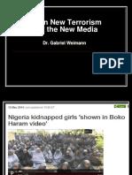 Terror and Social Media PPT