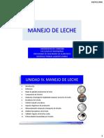 1.12 - Manejo de Leche - 2016