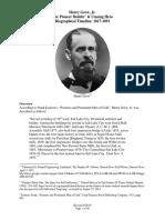 Henry Grow Jr. - Mormon Pioneer Builder Posted Version 3-15-16