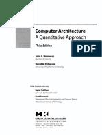 Computer Architecture - A Quantitative Approach