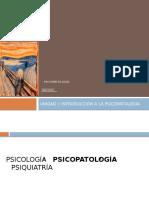 u. i Psicopatología