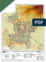 Mapa riesgo Fallas Fracturas Oaxaca
