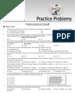 Fluid Mechanics Practice Problems