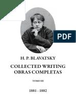 Blavatsky, Helena - Collected Writings Tomo III (1)