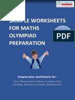 Class 3 - Maths - Chapter Wise (Sample)