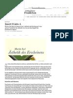 Rezension_ Insert B Into a - Feuilleton - FAZ