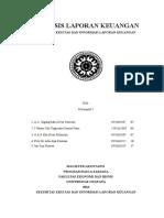 Sekuritas Ekuitas Dan Informasi Laporan Keuangan