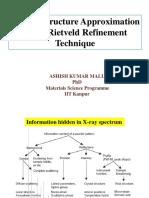 Rietveld Refienment Analysis