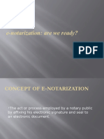 e Notarization Powerpoint
