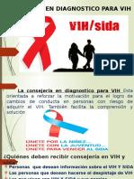 CONSEJERÍA EN DIAGNOSTICO PARA VIH.pptx