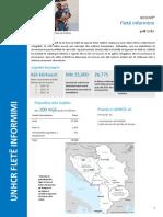 UNHCR Kosovo Fact Sheet 2016 - April - Albanian