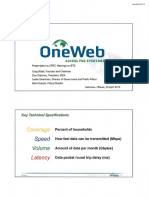 OneWeb Slides for Introductory Remarks by OneWeb Founder and Chairman Greg Wyler to the CRTC