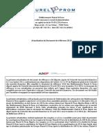 Actualisation Du Document de Reference 2010