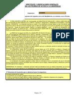 Directrices y Orientaciones Geografia 2015 2016