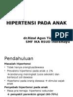 Hipertensi Pada Anak