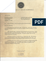 Downing Demand Letter