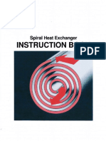 Spiral Heat Exchanger - Instruction Book