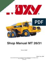 DOOSAN Shop Manual MT 26/31