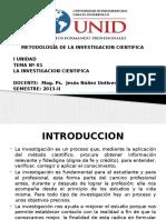 Diapositiva Unidad i Mic 2013-II.