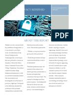 team privacy post deliberation report