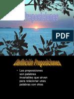 LAS PREPOSICIONES  Adrià González y Dani Gandolfi 1r A