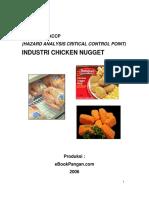 Model Rencana HACCP Industri Chicken Nugget