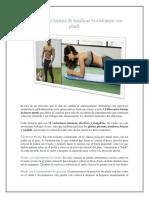 12 Diferentes Formas de Tonificar Tu Abdomen Con Plank