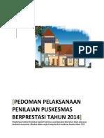425262Pedoman Pelaksanaan Penilaian Puskesmas Berprestasi Tahun 2014