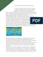 La Información y El Conocimiento Del Mundo