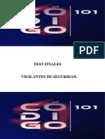 Test Finales Seguridad Privada