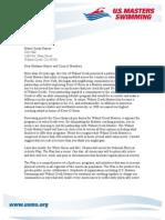 US Masters Walnut Creek Letter 5-5-2010